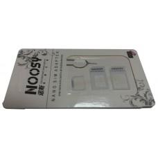 Переходник для SIM карт Noosy для nano Sim-карты